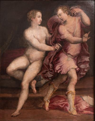 Francesco Primaticcio 16th C Joseph and Potiphars Wife