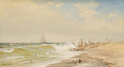 Francis Augustus Silva A Summer Day on the Coast 1882