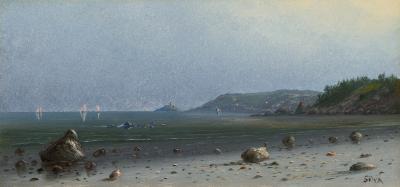 Francis Augustus Silva On the Coast Cohasset Massachusetts
