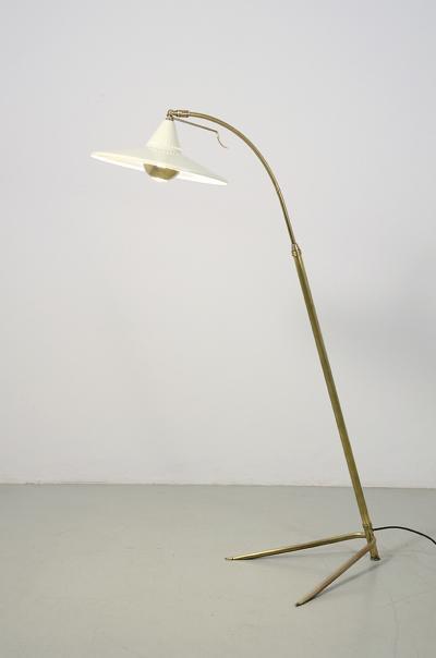 Francisco Barba Corsini Francisco Barba Corsini splendid 1950s adjustable floor lamp