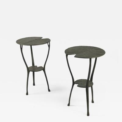 Franck Evennou Pair of Waly Side Tables Franck Evennou France 2019