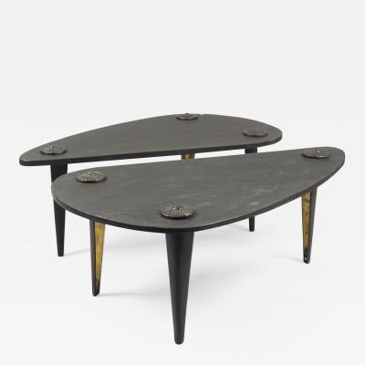 Franck Evennou Twin Coffee Tables by Franck Evennou France 2019