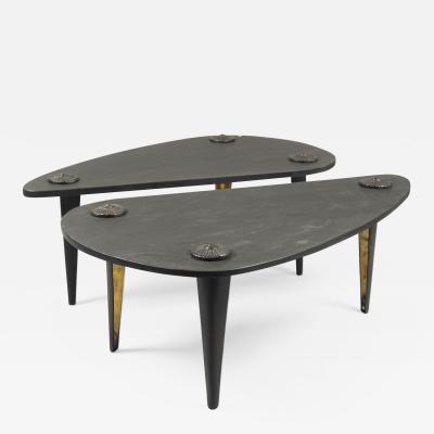 Franck Evennou Twin Coffee Tables by Franck Evennou France 2019