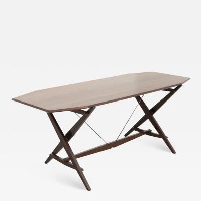 Franco Albini Cavalletto Dining or Working Table by Franco Albini for Poggi