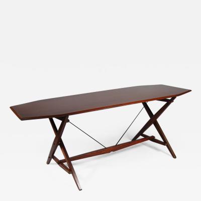 Franco Albini Center Table by Franco Albini 1905 1977 Italy ca 1950