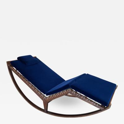 Franco Albini FRANCO ALBINI 1956 Rocking chaise longue model no PS16