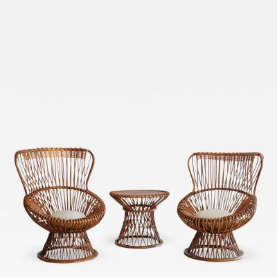 Franco Albini Franco Albini Margherita Chairs and Table