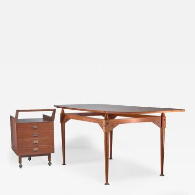 Franco Albini Franco Albini TL3 desk for Poggi Italy Early 1950s
