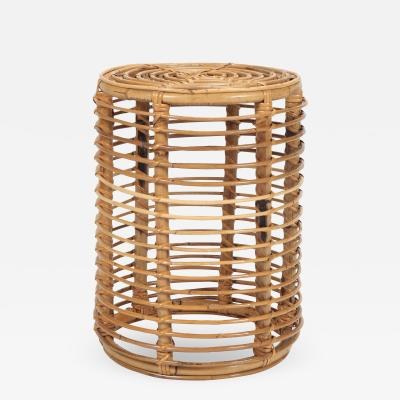 Franco Albini Franco Albini bamboo side table for Bonacina