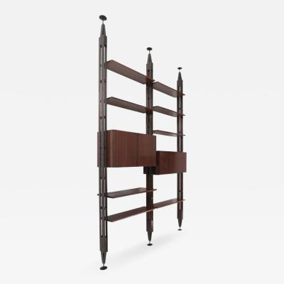 Franco Albini Lb7 Bookcase by Franco Albini for Poggi