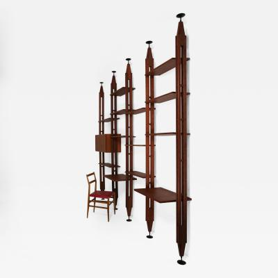 Franco Albini Lb7 Bookcase by Franco Albini for Poggi