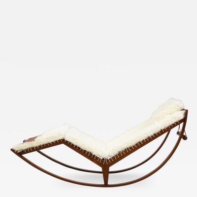 Franco Albini Rocking Chaise Model PS16