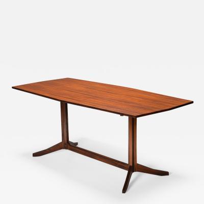 Franco Albini Rosewood Table TL22 by Franco Albini for Poggi 1958