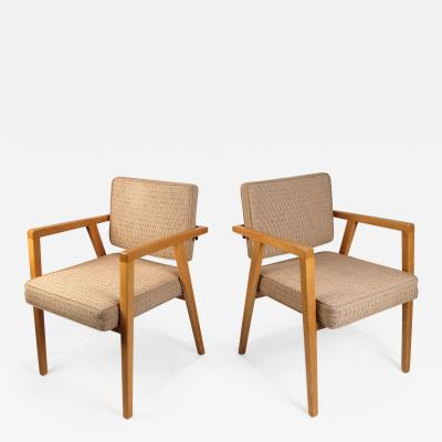 Franco Albini Set of Ten Fully Restored Vintage Franco Albini Dining Chairs produced by Knoll