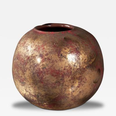 Franco Deboni Glass Vase by Franco Deboni Italy 2012