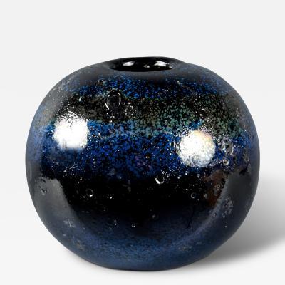 Franco Deboni Glass Vase by Franco Deboni Italy 2013