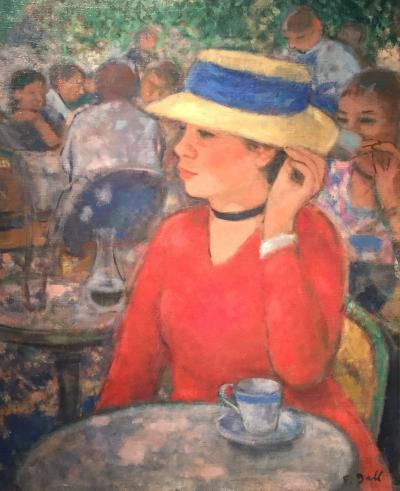 Francois Gall A La Terasse de Cafe