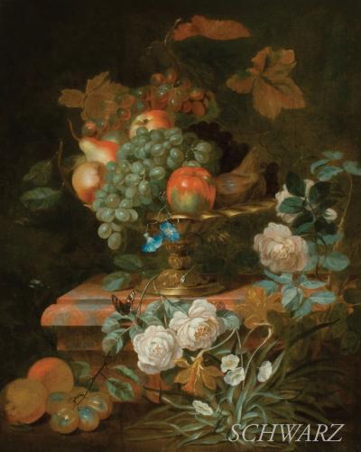 Francois Joseph Huygens Still Life