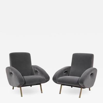Francois Letourneur Pair of Armchairs