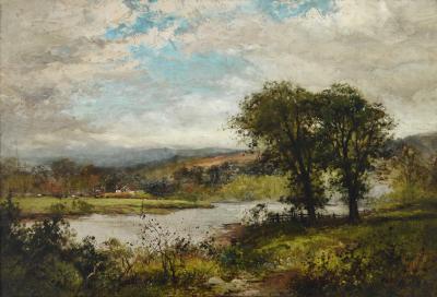 Frank C Bromley Summer Landscape