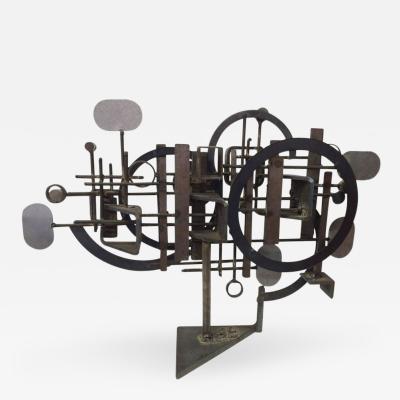 Frank Cotta Brutalist Sculpture by Frank Cotta