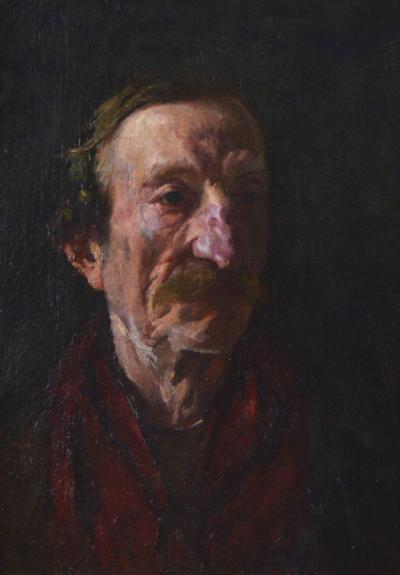 Frank Duveneck Male Portrait