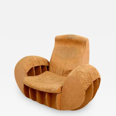 Frank Gehry Cardboard Rocker Easy Edges Attributed to Frank O Gehry