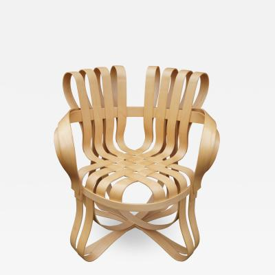 Frank Gehry Maple Bentwood Cross Check Armchair by Frank Gehry for Knoll