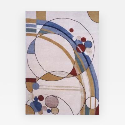Frank Lloyd Wright BALLOONS OF FREEDOM CARPET DESIGNED BY FRANK LLOYD WRIGHT