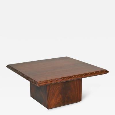 Frank Lloyd Wright End Table Frank Lloyd Wright Heritage Henredon Mahogany 1955