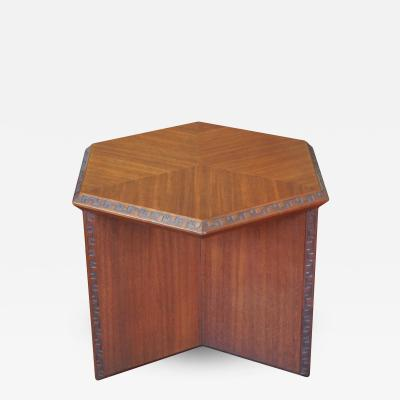 Frank Lloyd Wright Frank Lloyd Wright Taliesin Hexagonal Occasional Tables