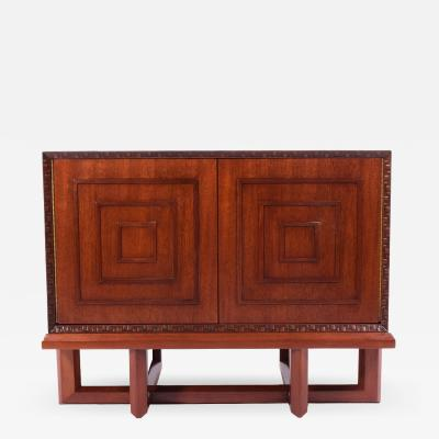 Frank Lloyd Wright Frank Lloyd Wright mahogany cabinet for Heritage Henredon