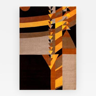 Frank Lloyd Wright MAY TRIANGLES CARPET DESIGNED BY FRANK LLOYD WRIGHT