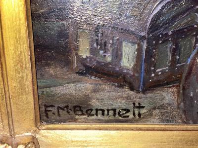 Frank Moss Bennett Old master painting Frank Moss Bennett