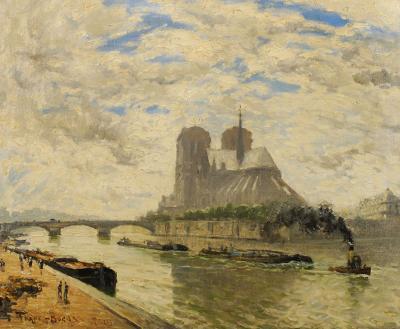 Frank Myers Boggs Notre Dame Paris