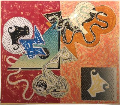Frank Stella Shards IV