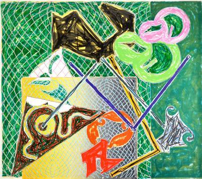 Frank Stella Shards V