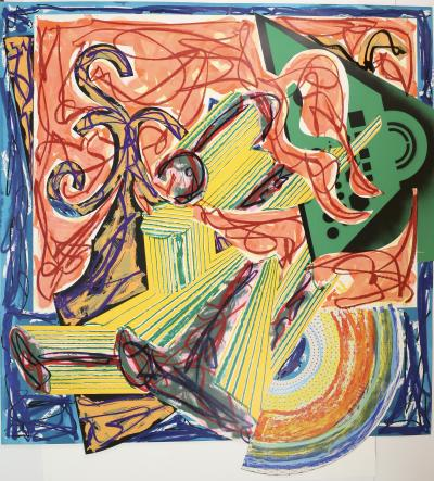 Frank Stella The Butcher Came and Slew the Ox