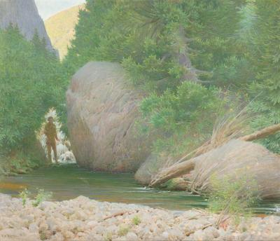 Frank Vincent DuMond Trout Rock