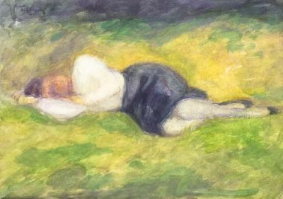 Frans de Geetere Sleeping Woman