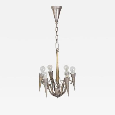 Franta Anyz 20th century Czech Chandelier