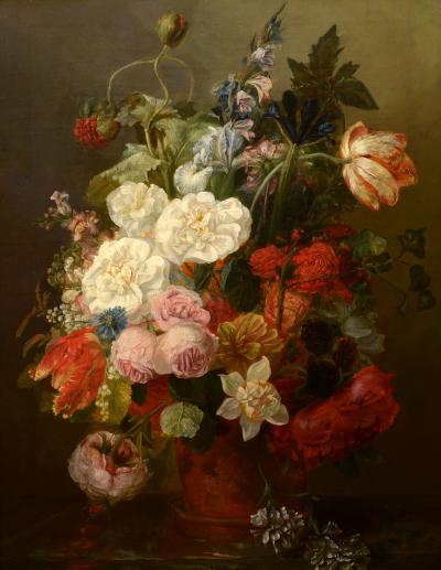 Frants Diderik B e Floral Still Life