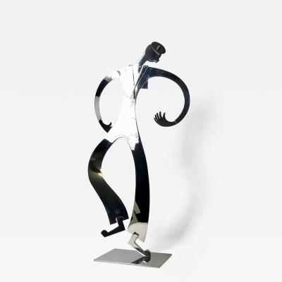 Franz Hagenauer Franz Hagenauer Dancing Sailor sculpture 1980 Austria