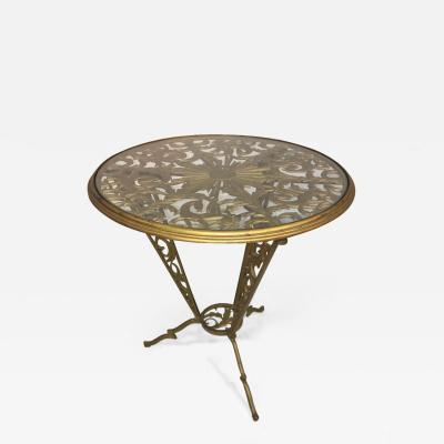 Franz Hagenauer Hagenauer Art Deco Stylized Sun and Horse Table