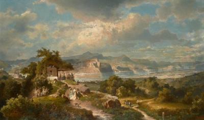 Franz Richard Unterberger Franz Richard Unterberger Austrian 1838 1902 Die Goldene Meile