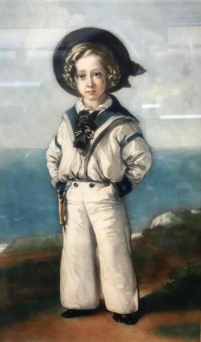 Franz Winterhalter Sailor Boy