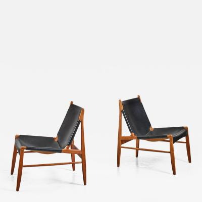 Franz Xaver Lutz Pair of Franz Xaver Lutz Hunting chairs Germany