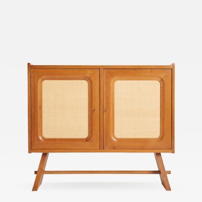 Franz Xaver Sproll Walnut and Hessian Cabinet by Franz Xaver Sproll