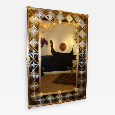 Fratelli Barbini Beveled Venetian Mirror