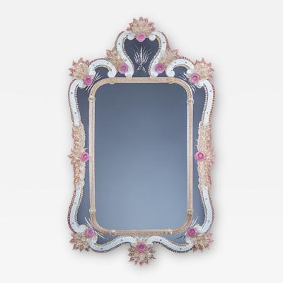 Fratelli Barbini Incredible Venetian Mirror by Fratelli Barbini
